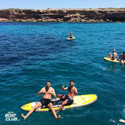 guys on SUP boards in ibiza