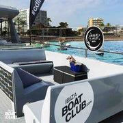 vip area of the ibiza boat club