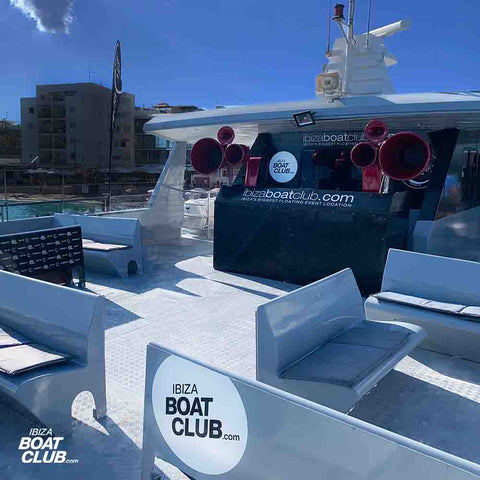 vip areas of the ibiza boat club