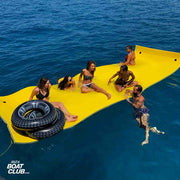 floatable toys of the ibiza boat club