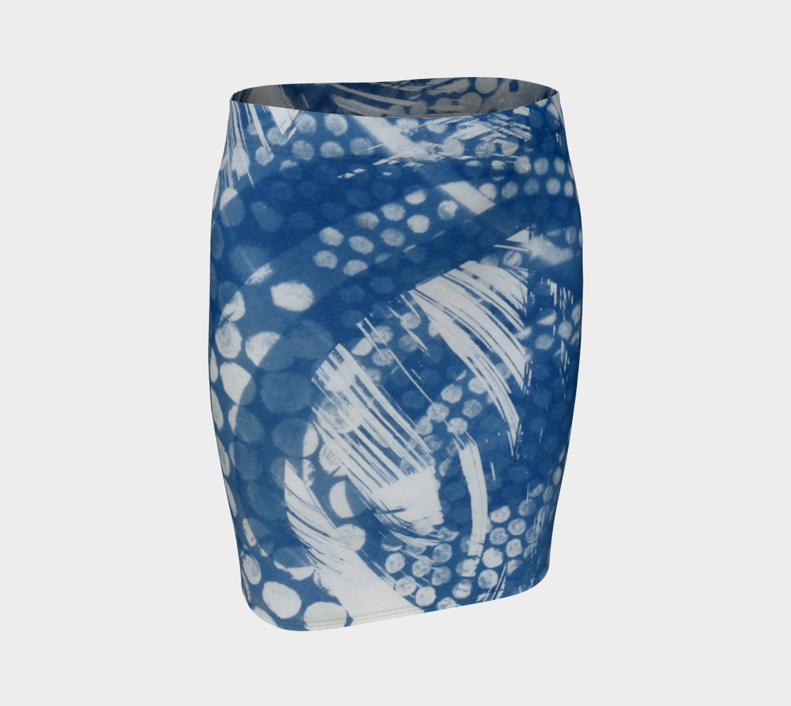 Octopus fitted skirt #1