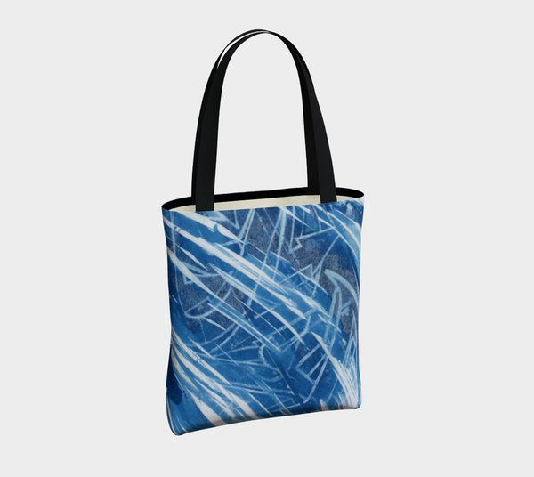 Controlled chaos tote bag #2