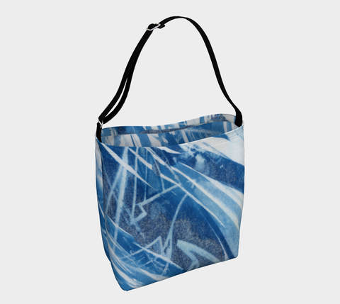 Controlled chaos day tote #1