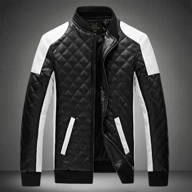 HighWind F-1 Performance Biker Leather Jacket