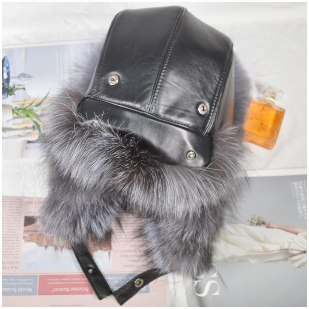 leather and luxury winter hat's