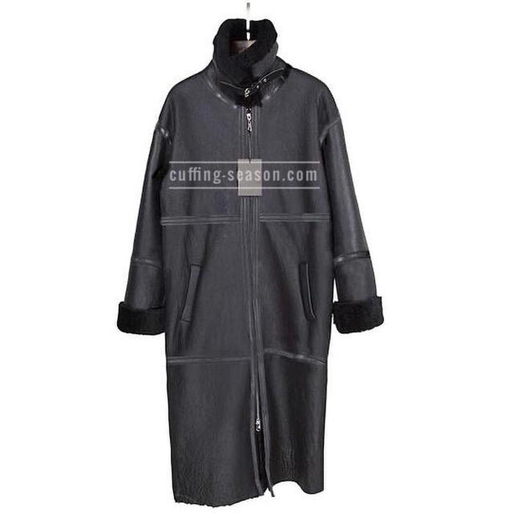 Long Merino    Oversized Coat