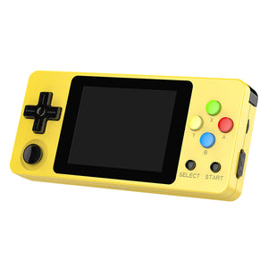 LDK Second Generation Game Console Mini Handheld Family Retro Games Console yellow