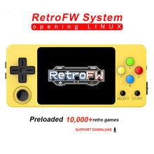 Load image into Gallery viewer, LDK Second Generation Game Console Mini Handheld Family Retro Games Console yellow