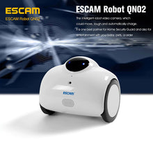 Load image into Gallery viewer, ESCAM QN02 WiFi Robot Camera - Wi-Fi, iOS + Android ,Smartphone App, 720P, 2 Way Audio, 4400mA Battery