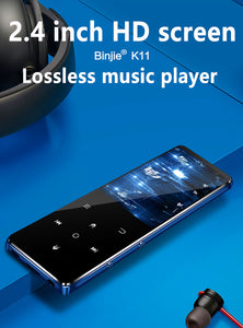 BENJIE K11 IPX4 Waterproof HIFI Bluetooth MP3 Music Player Lossless Mini Portable FM Radio Ebook Voice Recorder Blue-RB5V