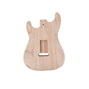 Electric Guitar Body Ash Retro for ST Electric Guitar 51 * 39 * 8CM Wood color