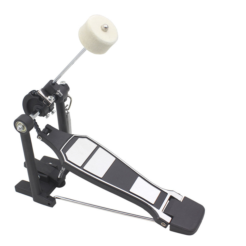 Professional Drum Pedal Single Step Hammer Musical Instrument Accessories black