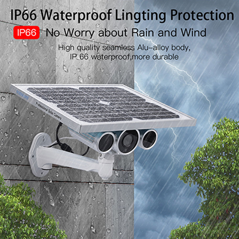 Wanscam HW0029-6 1080P 4G Solar Power IP Camera Starlight Night Vision Camera - AU PLUG