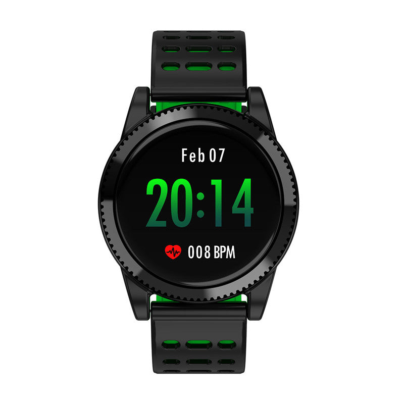 Sports Smart Bracelet - 1.3 Inch IPS Screen, 220mAh Battery, Pedometer, Blood Pressure Monitoring, Waterproof IP67 (Green)