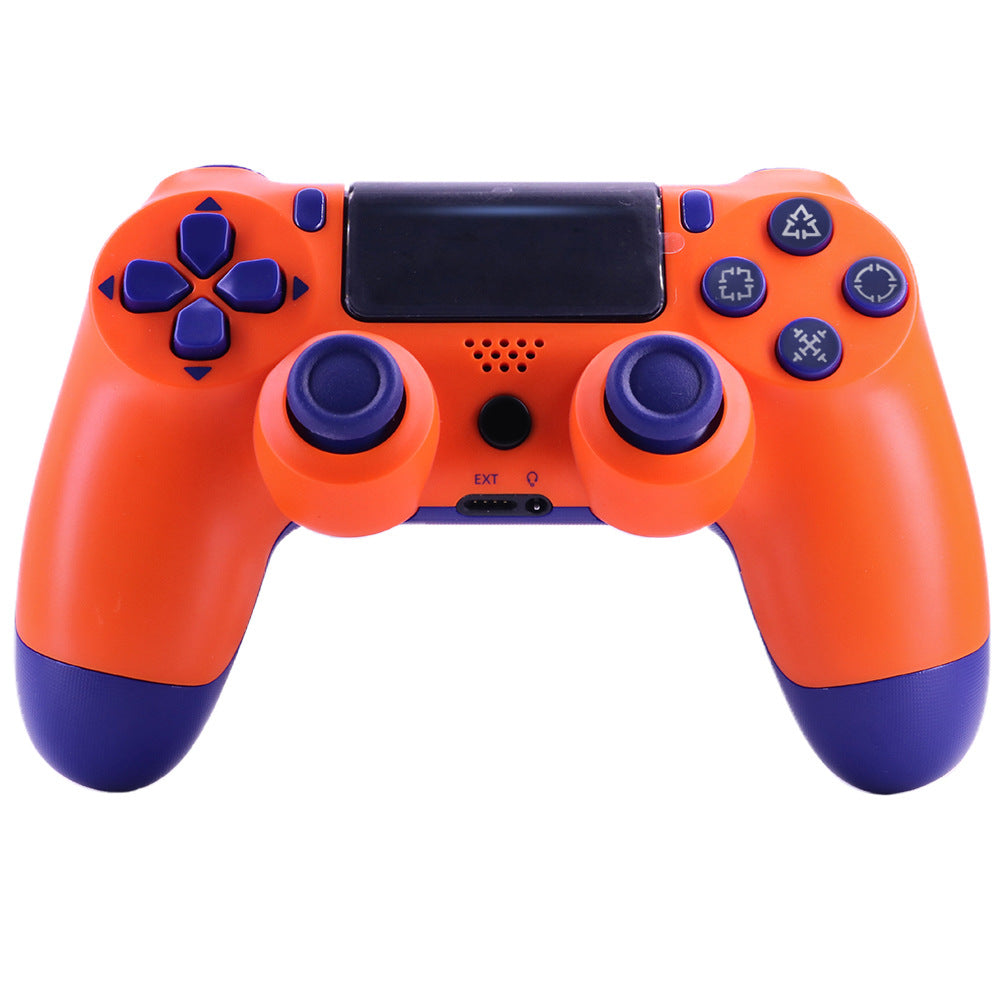 4.0 Wireless Bluetooth Controller Gamepad with Light Strip for PS4 Gray camouflage