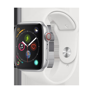 Apple Smart iWatch Series 4 Health Monitoring Lightweight Watch (GPS+Cellular / 44mm / 40mm) white_GPS 44mm