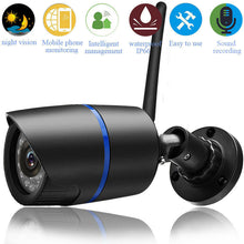 Load image into Gallery viewer, 1080P Security Wireless WIFI IP Audio Camera HD IR Outdoor Wireless Camera UK Plug