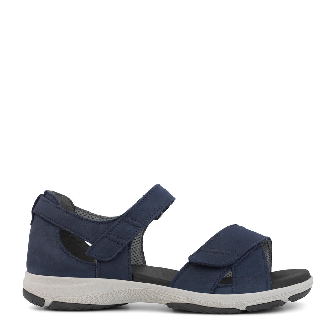 Blue Nubuck Sandal from New Feet
