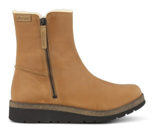 fur lined tan boots