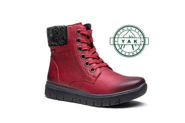 G-Comfort Medoc red Yak leather
