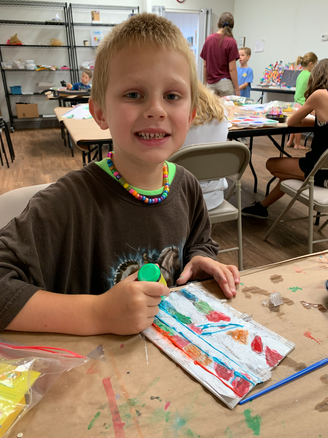 Spring Art Camp (March 15-19)