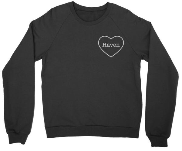 PERSONALIZED MOM HEART WOMENS SWEATER
