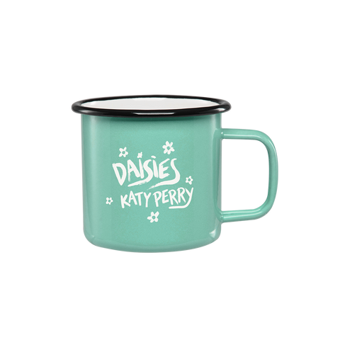 Daisies Enamel Mug + Forthcoming Digital Album