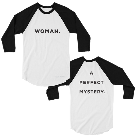 Woman. A Perfect Mystery Raglan