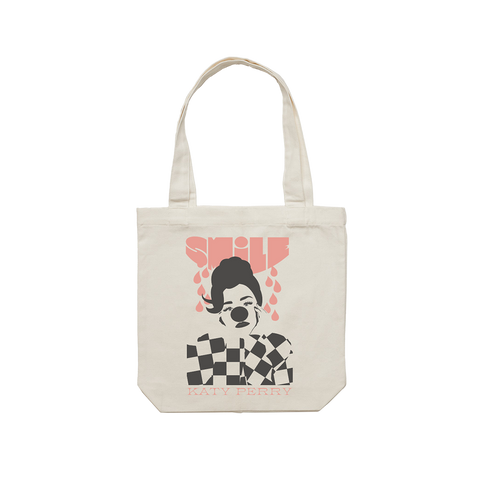 Smile Canvas Tote