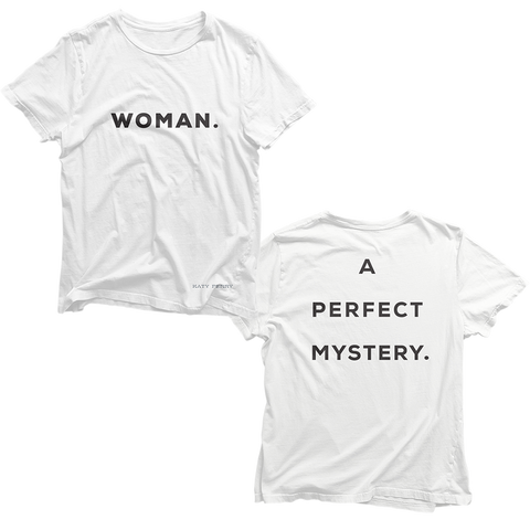 Woman. A Perfect Mystery T-Shirt + Digital Album