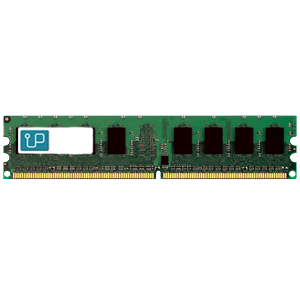 Upgradeable 4GB (1x 4GB) DDR2-800 PC2-6400 1.8V DR x8 240-pin UDIMM RAM Module