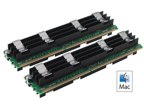 Hynix Apple 8GB (2x 4GB) DDR2-800 PC2-6400 1.8V DR x8 ECC Fully Buffered 240-pin FB-DIMM RAM Kit