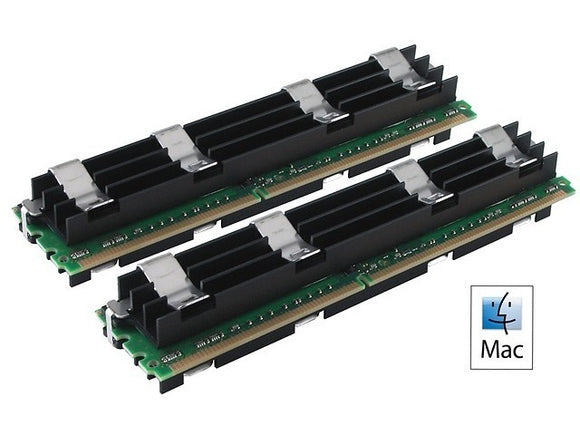 Hynix 4GB (2x 2GB) DDR2-800 PC2-6400 1.8V DR x4 ECC Fully Buffered 240-pin FB-DIMM RAM Kit