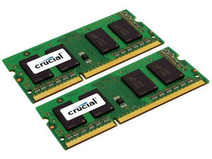 Crucial 32GB (2x 16GB) DDR3L-1600 PC3L-12800 1.35V / 1.5V DR x8 204-pin SODIMM RAM Kit