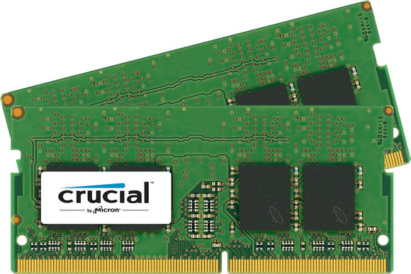 Crucial 16GB (2x 8GB) DDR4-2133 PC4-17000 1.2V DR x16 260-pin SODIMM RAM Kit