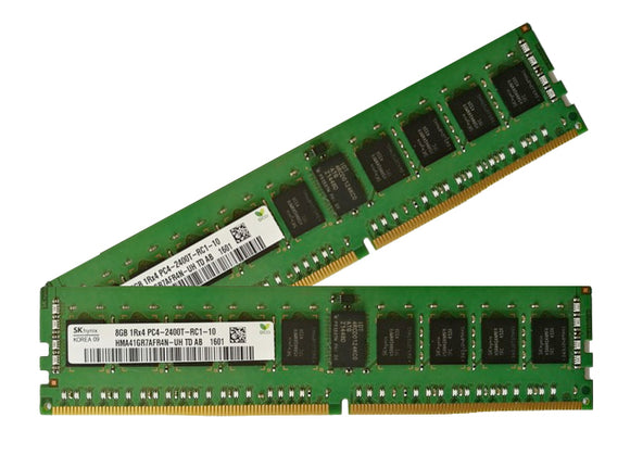 Samsung 16GB (2x 8GB) DDR4-2400 PC4-19200 1.2V SR x4 ECC Registered 288-pin RDIMM RAM Kit