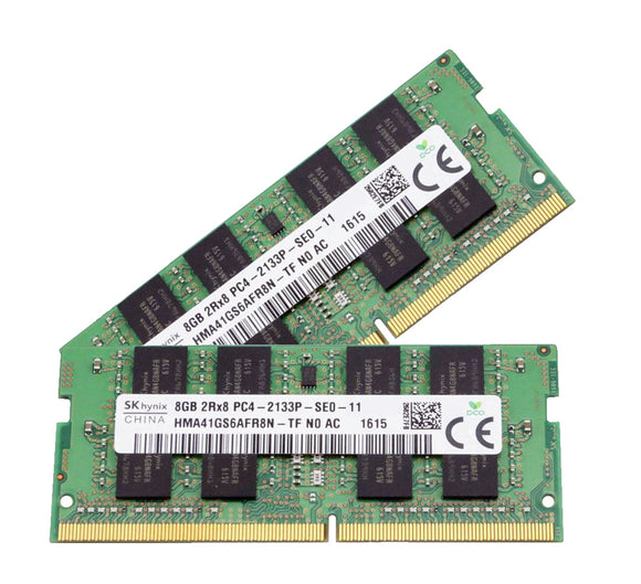Hynix 16GB (2x 8GB) DDR4-2133 PC4-17000 1.2V DR x8 260-pin SODIMM RAM Kit
