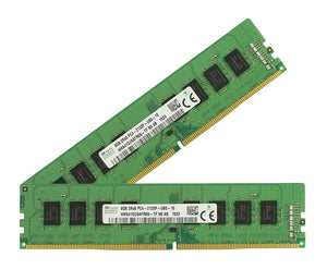 Hynix 16GB (2x 8GB) DDR4-2133 PC4-17000 1.2V DR x8 288-pin UDIMM RAM Kit