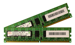 Hynix 4GB (2x 2GB) DDR2-800 PC2-6400 1.8V DR x8 ECC 240-pin EUDIMM RAM Kit