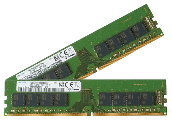 Samsung 64GB (2x 32GB) DDR4-2666 PC4-21300 1.2V DR x8 288-pin UDIMM RAM Kit