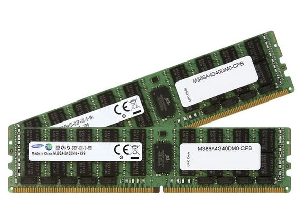 Samsung 64GB (2x 32GB) DDR4-2133 PC4-17000 1.2V QR x4 ECC Load Reduced 288-pin LRDIMM RAM Kit