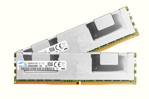 Samsung 128GB (2x 64GB) DDR4-2400 PC4-19200 1.2V QR x4 ECC Load Reduced 288-pin LRDIMM RAM Kit