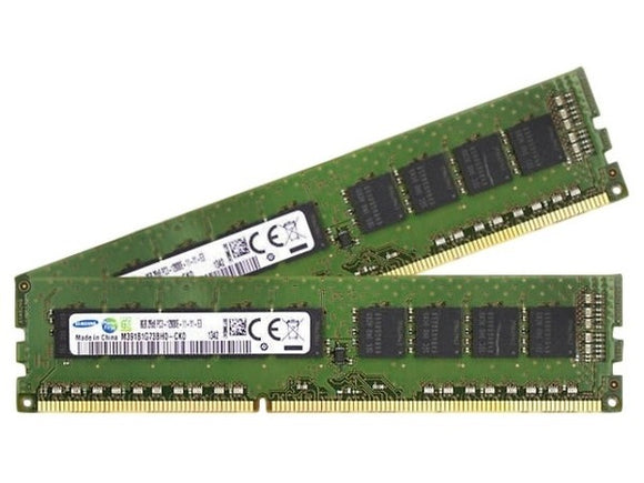 Samsung 16GB (2x 8GB) DDR3L-1600 PC3L-12800 1.35V / 1.5V DR x8 ECC 240-pin EUDIMM RAM Kit