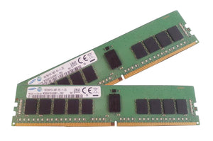 Samsung 16GB (2x 8GB) DDR4-2400 PC4-19200 1.2V DR x8 ECC Registered 288-pin RDIMM RAM Kit