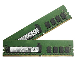 Samsung 32GB (2x 16GB) DDR4-2666 PC4-21300 1.2V SR x4 ECC Registered 288-pin RDIMM RAM Kit