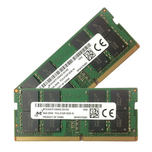 Micron 32GB (2x 16GB) DDR4-2133 PC4-17000 1.2V DR x8 260-pin SODIMM RAM Kit