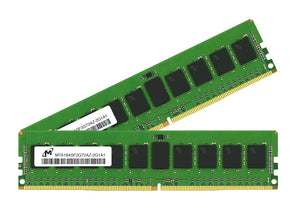Micron 32GB (2x 16GB) DDR4-2133 PC4-17000 1.2V DR x8 ECC 288-pin EUDIMM RAM Kit