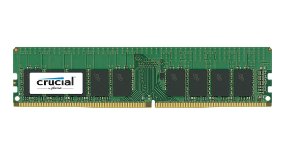 Crucial 16GB (1x 16GB) DDR4-2400 PC4-19200 1.2V DR x4 ECC Registered 288-pin RDIMM RAM Module