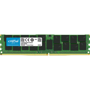 Crucial 16GB (1x 16GB) DDR4-2666 PC4-21300 1.2V DR x4 ECC Registered 288-pin RDIMM RAM Module