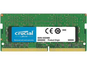 Crucial 16GB (1x 16GB) CL17 DDR4-2400 PC4-19200 1.2V DR x8 260-pin SODIMM RAM Module for Mac (or PC)